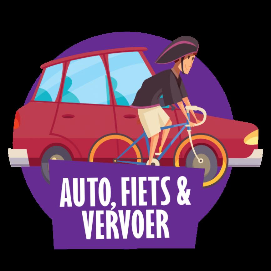 Auto's, fietsen & vervoer